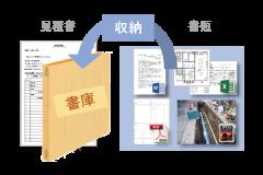 見積請求システム-書庫機能